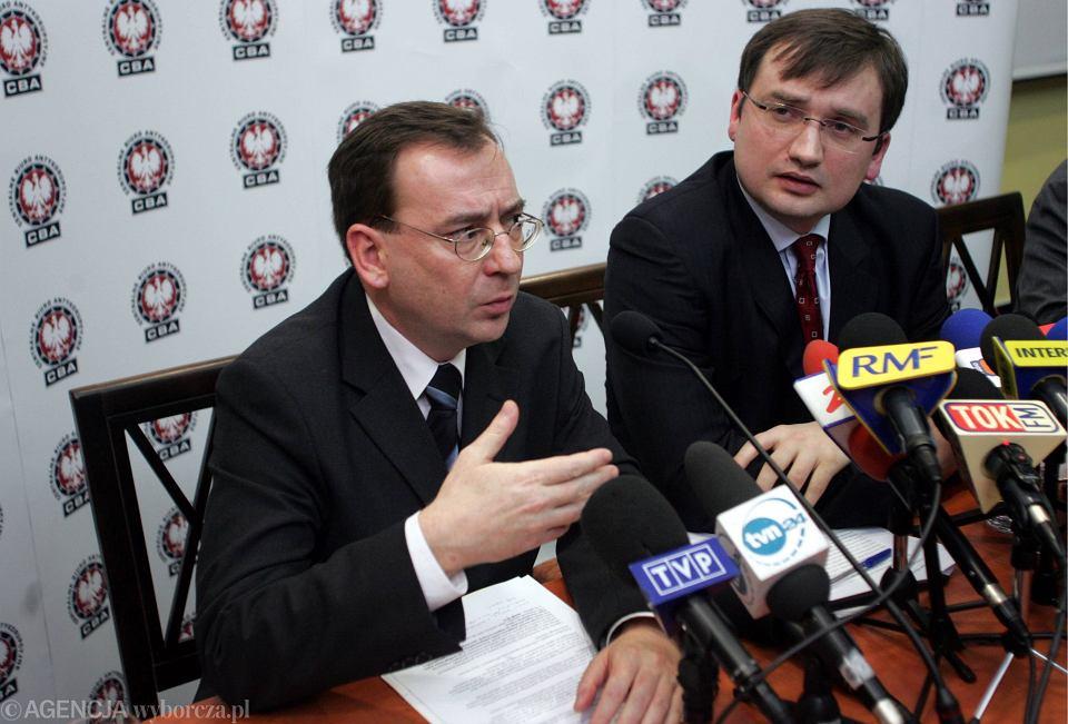 Mariusz Kamiński, Zbigniew Ziobro