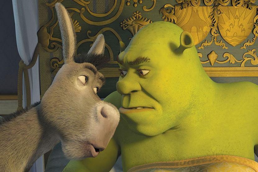 Kadr z filmu 'Shrek Trzeci'