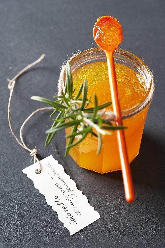 Galaretka rozmarynowo-pomarańczowa