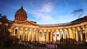 Petersburg, Rosja - Sobór Kazański