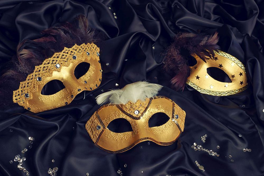 Maska karnawałowa