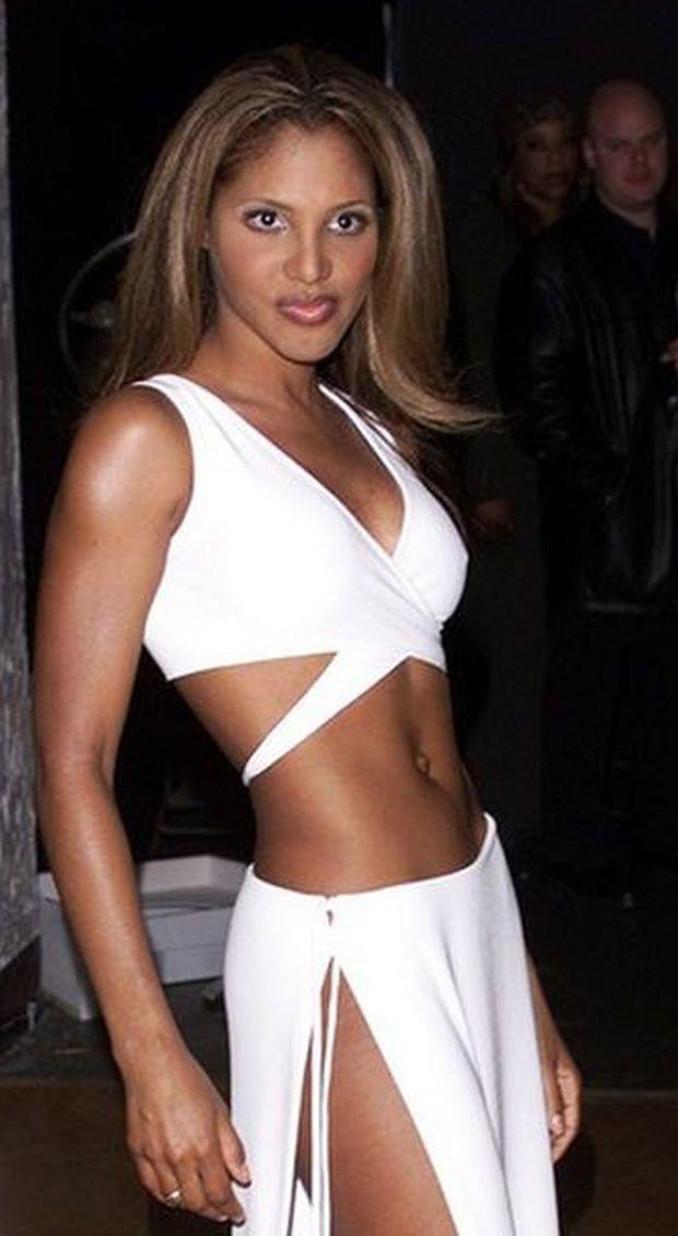 Toni Braxton 2000 roku na 25 urodzinach Arista Records w Los Angeles.