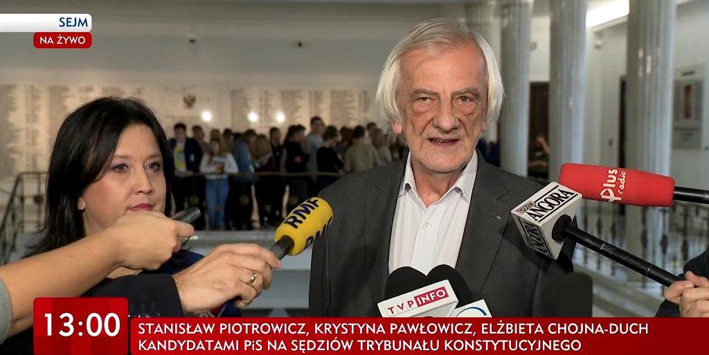 Konferencja prasowa/TVP INFO