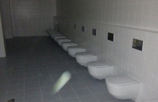 Zaplecze sanitarne stadionu w Wołgogradzie
