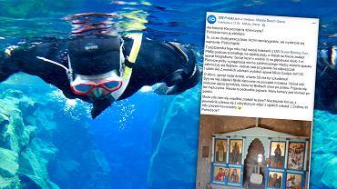 Podczas nurkowania w Grecji znalazł w wodzie, na głębokości trzech metrów, aparat fotograficzny. Udało się odnaleźć jego właścicielkę. To Polka