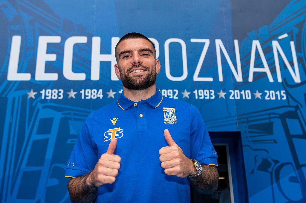 Pedro Rebocho - nowy piłkarz Lecha Poznań
