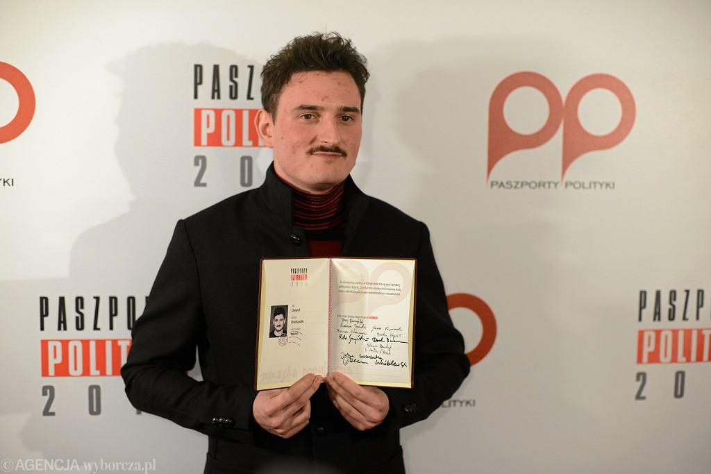 Paszporty 'Polityki' 2018 rozdane. Jednym z laureatów został Dawid Podsiadło