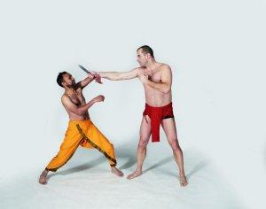 Sztuki walki: kalari, mój pierwszy raz, sztuki walki,