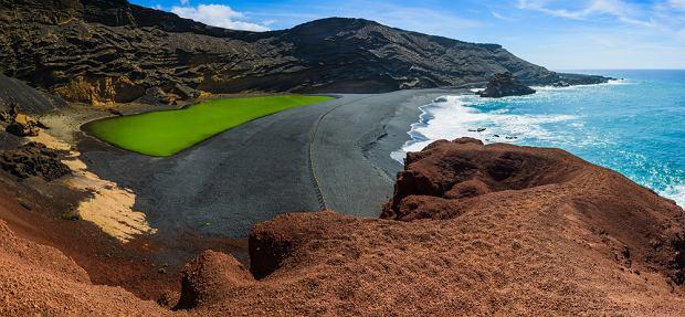 Jezioro Los Clicos (krater El Golfo)