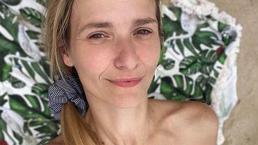 Joanna Koroniewska na wakacjach