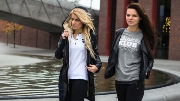 Kampania promująca kolekcję ubrań GKS-u Katowice