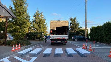 Trójwymiarowe przejście dla pieszych 3D, Lesznowola
