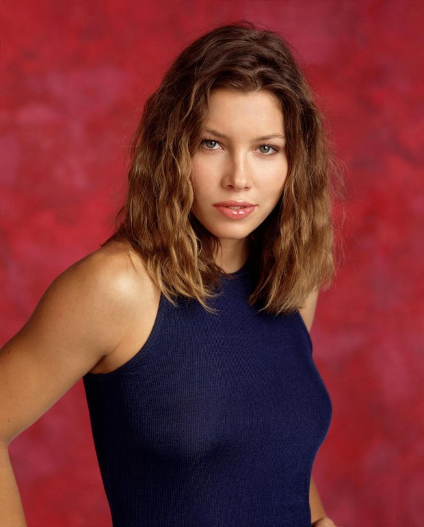 "LAB11:FEATURE-BIEL:LOS ANGELES,CALIFORNIA,17FEB00 - UNDATED PUBLICITY PHOTOGRAPH - Actress Jessica Biel, 17,  who stars in the family oriented WB's television series ""7th Heaven""  is shown in this undated publicity photograph. Biel, who bares almost all in a semi-nude photo spread in the March, 2000 issue of Gear magazine, is set to star opposite Freddie Prinze Jr. in Warner Bros.' ""Summer Catch."" In an ironic twist, news of the casting comes on the heels of a $100 million lawsuit filed February 15 by ""7th Heaven"" producer Aaron Spelling, who claims the magazine defamed him by alleging that he had prevented her from securing film work. fsp/Photo Courtesy The WB Network REUTERS"