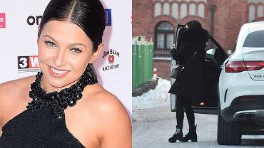 Anna Lewandowska przed galą 'Przeglądu Sportowego' pojechała do fryzjera. Zobacz, jak wyglądała.