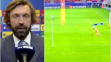 Andrea Pirlo o sytuacji w meczu Ferencvaros - Juventus