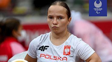 Wrzesień 2021 r. Renata Śliwińska ze złotym medalem w pchnięciu kulą i rekordem paraolimpijskim
