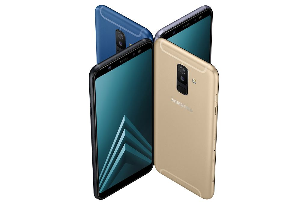 Samsung prezentuje Galaxy A6 i A6+