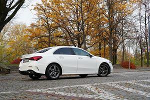 Opinie Moto.pl: Mercedes Klasy A sedan A 180 d. Zapomnij o stacji paliw