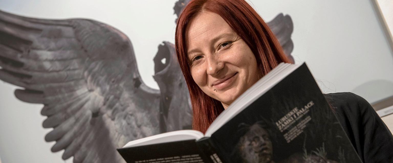 Aleksandra Łobodzińska jest współautorką publikacji o zielonogórskich środowiskach twórczych. (Fot. Władysław Czulak/Agencja Gazeta)