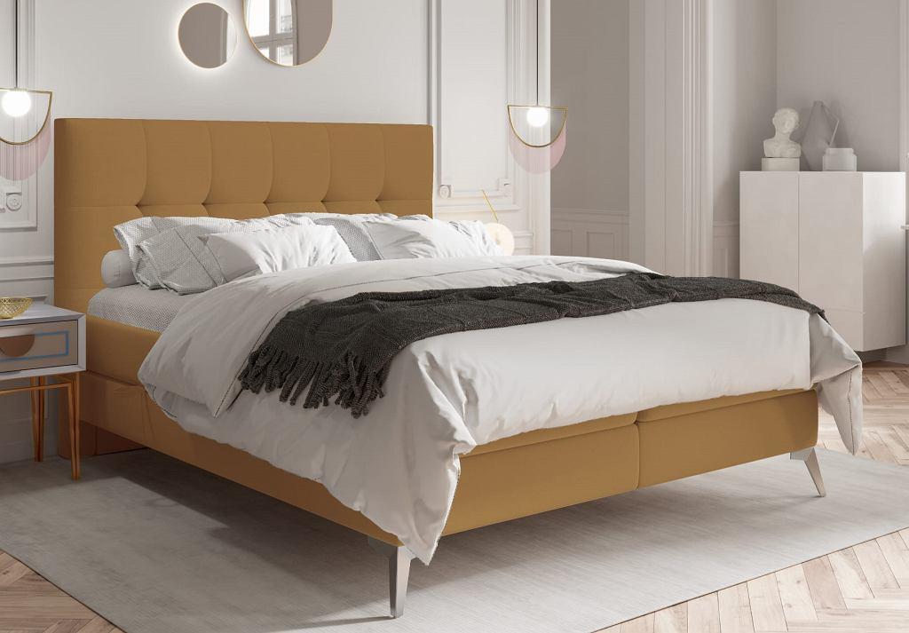 Łóżko kontynentalne z pojemnikiem Sutton.