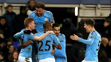 Everton - Manchester City. 'Obywatele' nowymi liderami Premier League