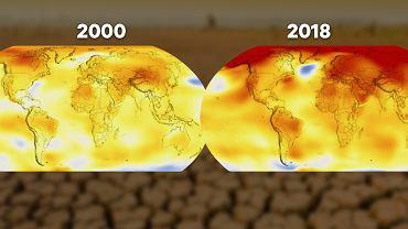 Model NASA. Globalne ocieplenie