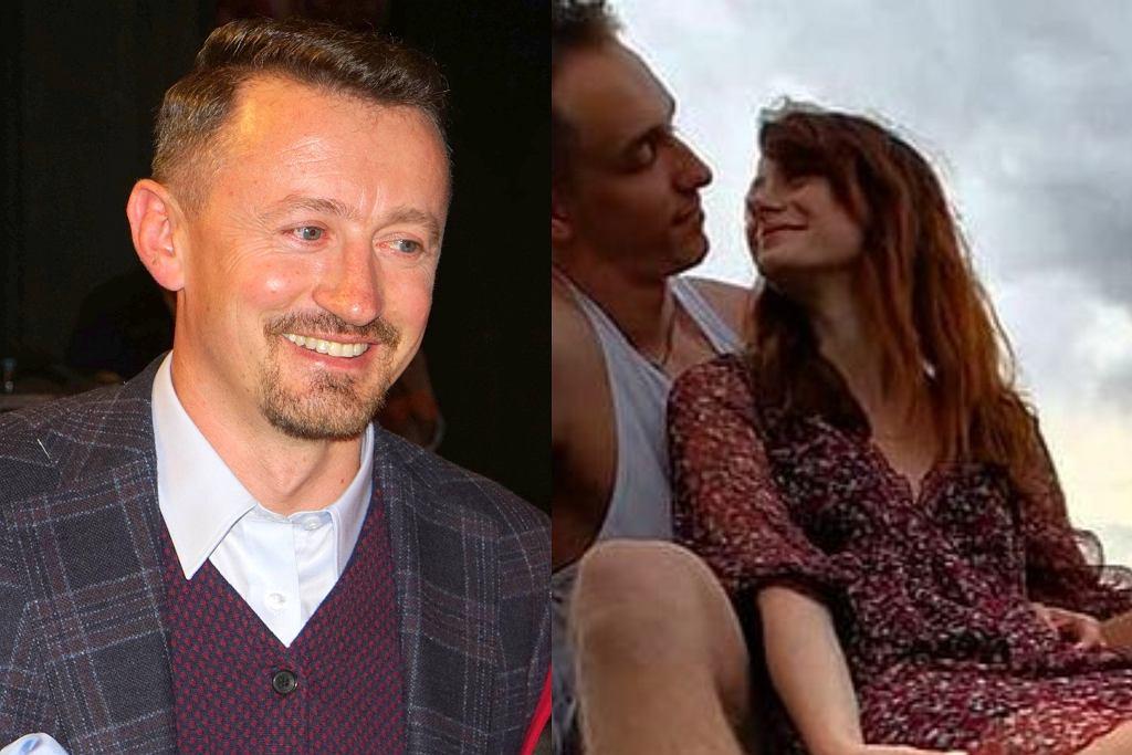 Adam Małysz i Karolina Małysz