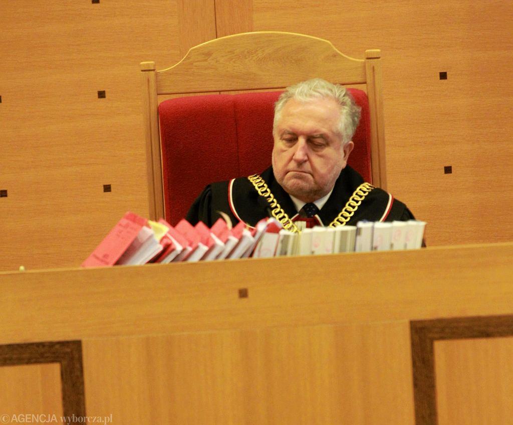 Profesor Andrzej Rzepliński, prezes Trybunału Konstytucyjnego