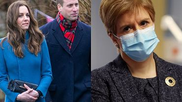 Księżna Kate, książę William, Nicola Sturgeon