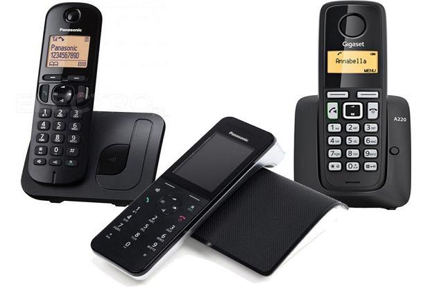 Telefony stacjonarne bezprzewodowe