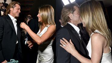 Jennifer Aniston i Brad Pitt razem w czułym uścisku! Na ten moment fani czekali 15 lat. Było warto, te ujęcia nie uciszą plotek