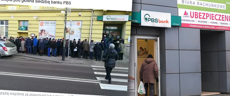 """Klienci banku PBS w Sanoku wypłacają pieniądze. """"Nagle okazało, że upada"""".  BFG uspokaja"""