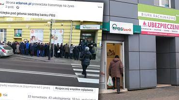 """Klienci PBS w Sanoku wypłacają pieniądze. """"Nagle w mediach okazało się, że bank upada"""". BFG uspokaja"""