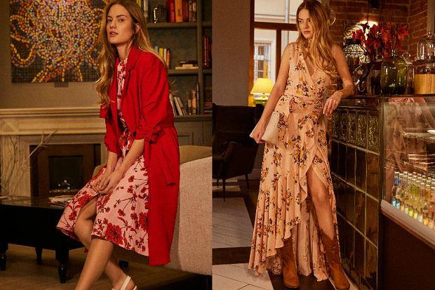 Sukienki w kwiaty z nowej kolekcji Answear