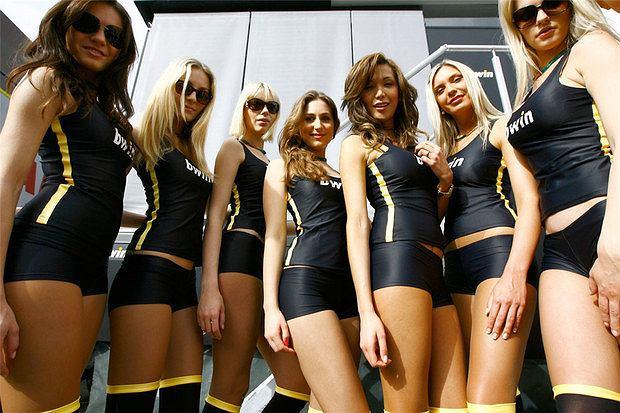 Dziewczyny MotoGP