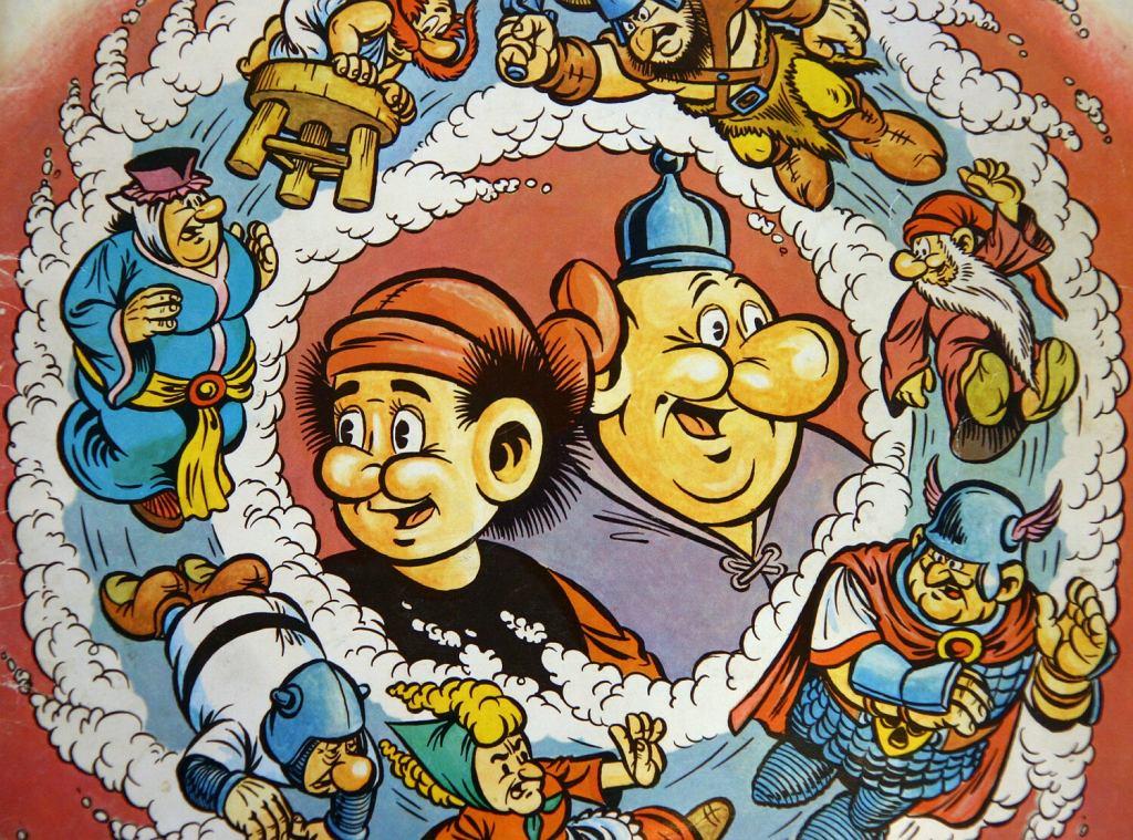 Historia polskiego komiksu okladka komiksu Kajko i Kokosz autorstwa Janusza Christy
