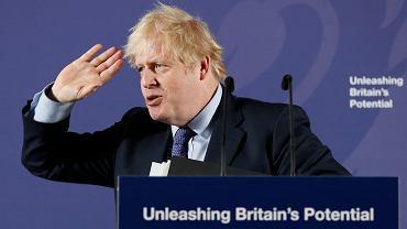 Brexit. Premier Wielkiej Brytanii Boris Johnson.