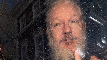 Julian Assange aresztowany
