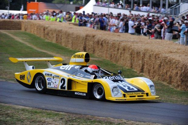 Alpine A442b z 1978 roku w Le Mans