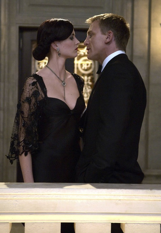 EVA GREEN and DANIEL CRAIG in Casino Royale.  Fot. face to face/REPORTER  01072556