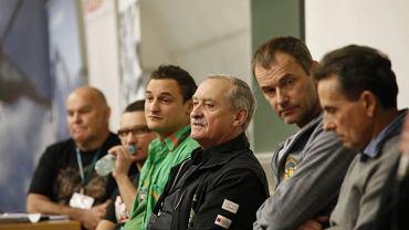 Od lewej: Janusz Majer, Artur Małek, Adam Bielecki, Krzysztof Wielicki, Dariusz Załuski i Ludwik Wilczyński