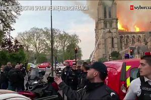 Tak płonęła katedra Notre Dame