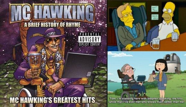 Stephen Hawking w popkulturze