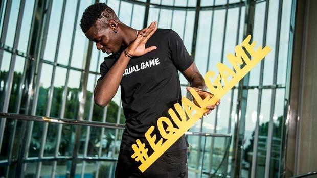 Paul Pogba w kampanii Equal Game