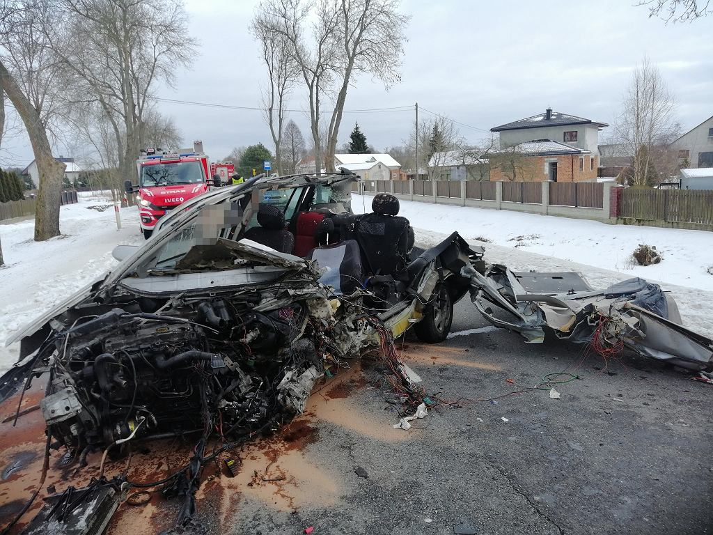 Wypadek we wsi Łosinno