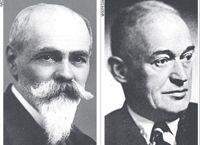 Stanisław Zaremba (1863-1942) i Tadeusz Ważewski (1896 - 1972)