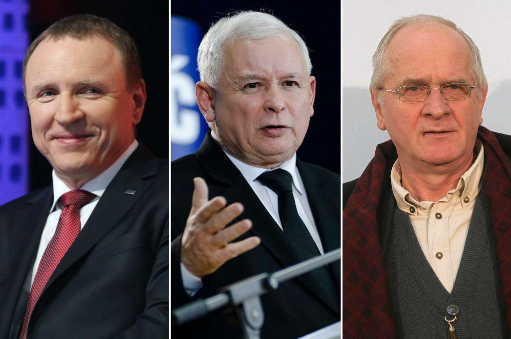 Jacek Kurski, Jarosław Kaczyński, Krzysztof Czabański
