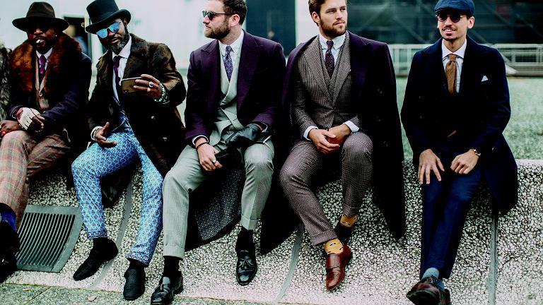 Kamizelki, dwurzędowe marynarki - styl retro nadal ma się świetnie w modzie męskiej.