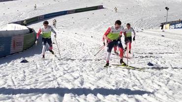Trening norweskich biegaczy przed MŚ w Oberstdorfie