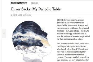 Oliver Sacks o ukojeniu w umieraniu na raka, jakie dają mu prezenty urodzinowe